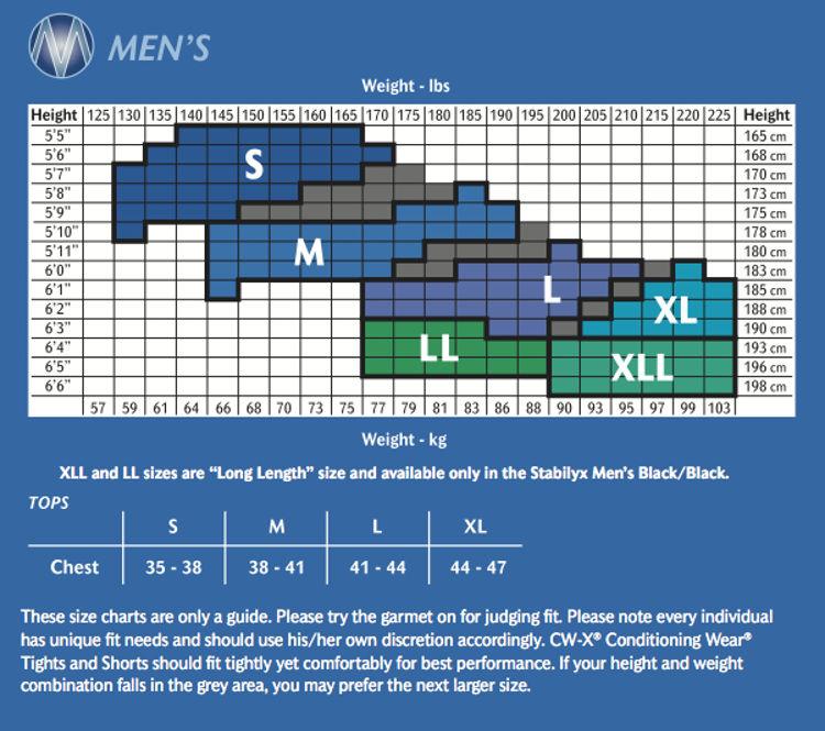 Mynd CWX Stabilyx Tights Men black