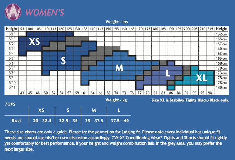 Mynd CWX Stabilyx Tights Women svartar/rainbow