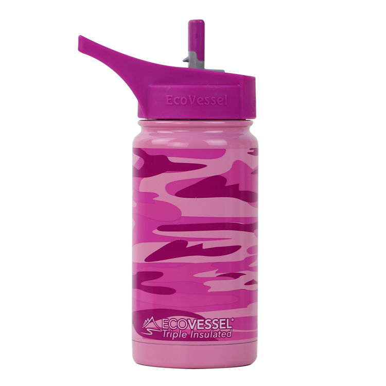 Mynd Eco Vessel Frost 400ml Pink Camouflage