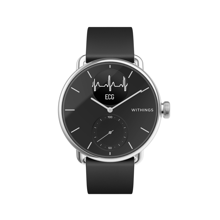 Mynd Withings Scanwatch 38mm svart