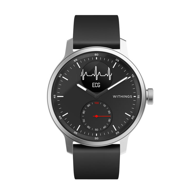 Mynd Withings Scanwatch 42mm svart