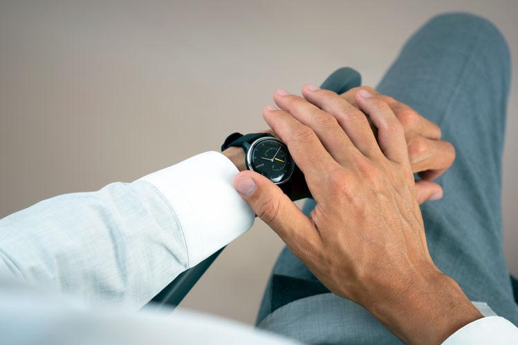 Mynd Withings Move ECG Svart