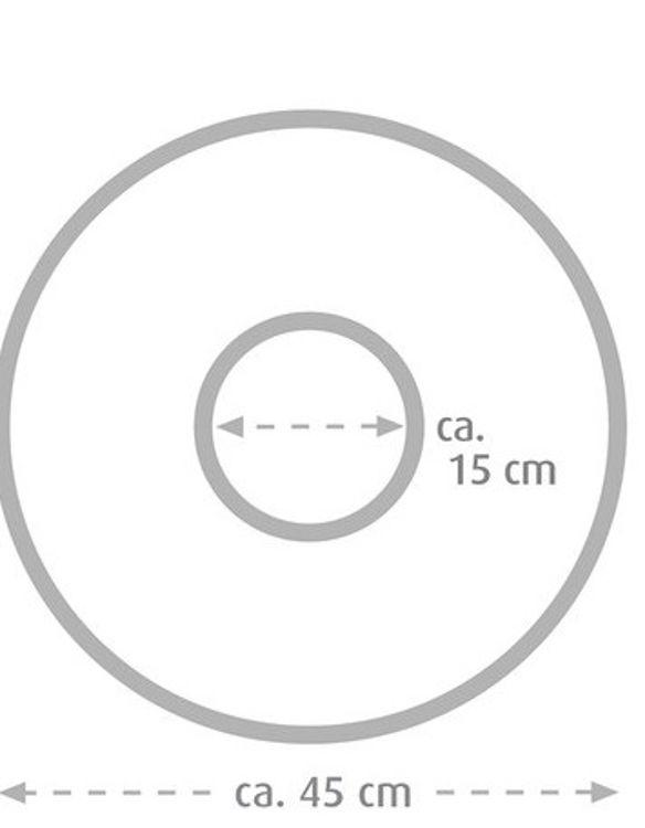 Mynd Sissel kringlóttur sethringur