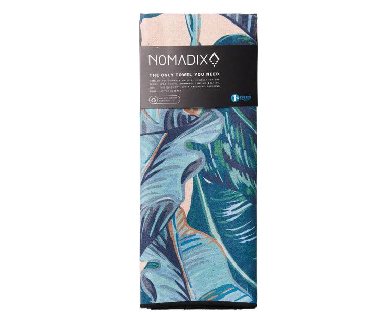 Mynd Nomadix jóga handklæði Banana Leaf Teal