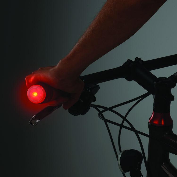 Mynd Nite Ize GripLit LED ljós á stýri rautt