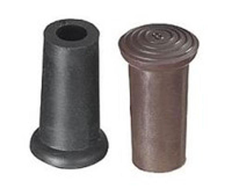 Mynd gúmmí á staf, svart 8mm