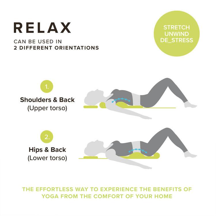 Mynd HoMedics Yoga teygjumotta XS