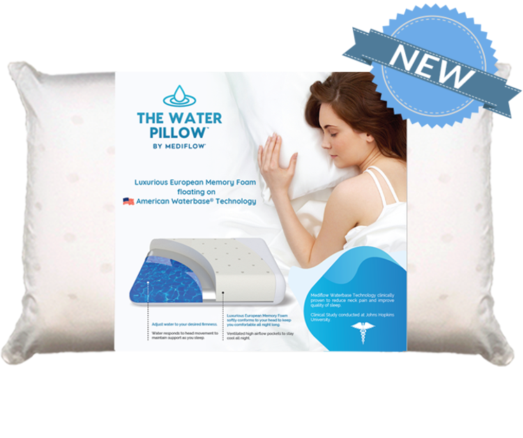 Mynd Mediflow vatnskoddi Luxus Memory foam