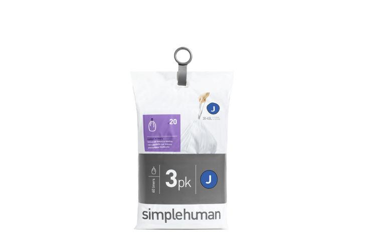 Mynd simplehuman J pokar 3x 20pk 30-45 ltr
