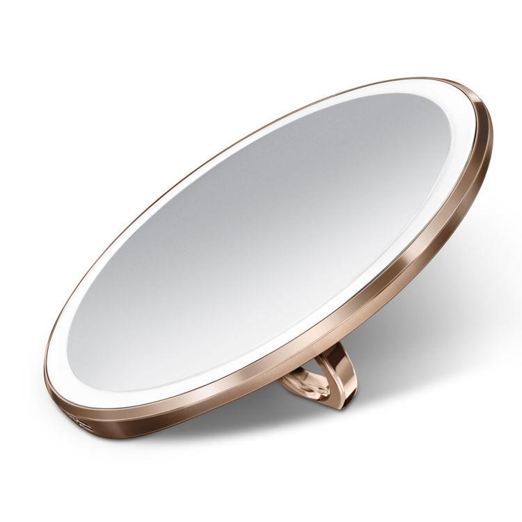 Mynd simplehuman Sensor ferðaspegill 10cm rose gold