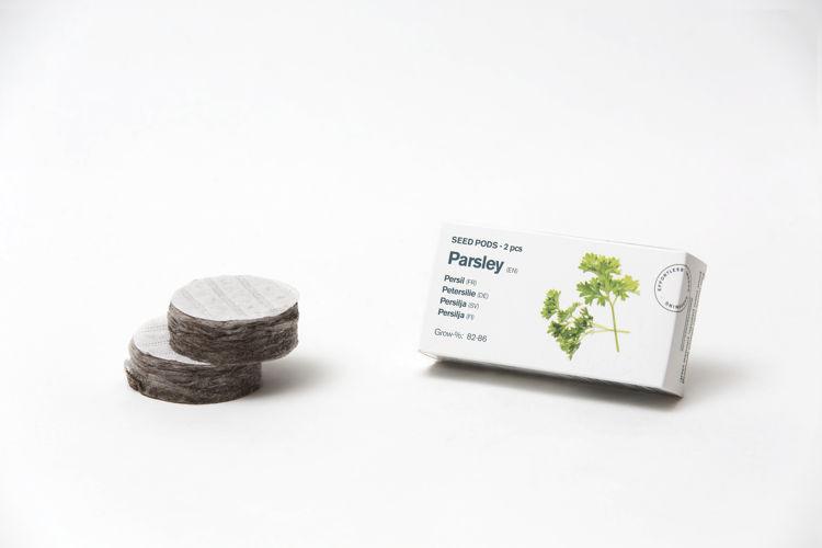 Mynd Tregren frækubbur steinselja