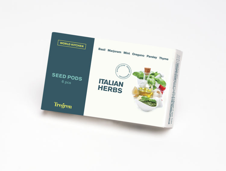 Mynd Tregren frækubbar Italian Herbs