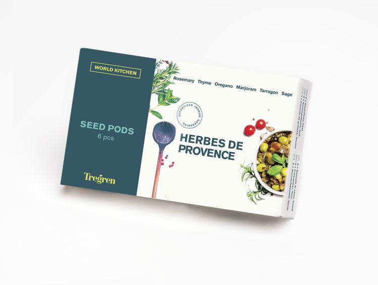 Mynd Tregren frækubbar Herbes de Provence