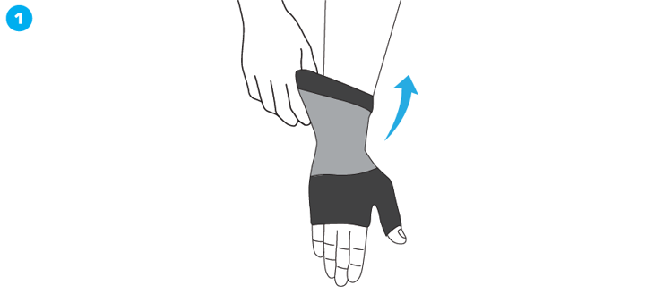 Mynd Airflow Wrist & Thumb Support
