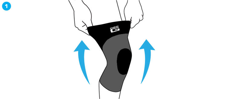 Mynd Airflow Knee Support
