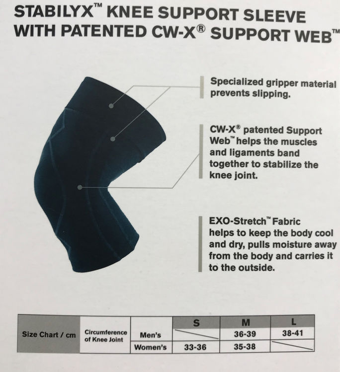 Mynd CWX Stabilyx hnéhlíf dömu