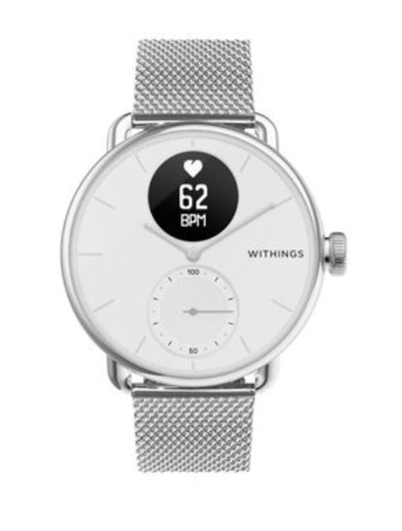 Mynd Withings 18mm Silfur ól
