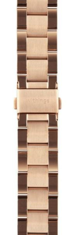 Mynd Withings 18mm Oyster Rose Gold ól