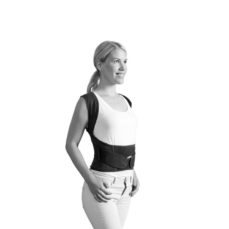 Mynd Réttstöðubelti Posture Position svart
