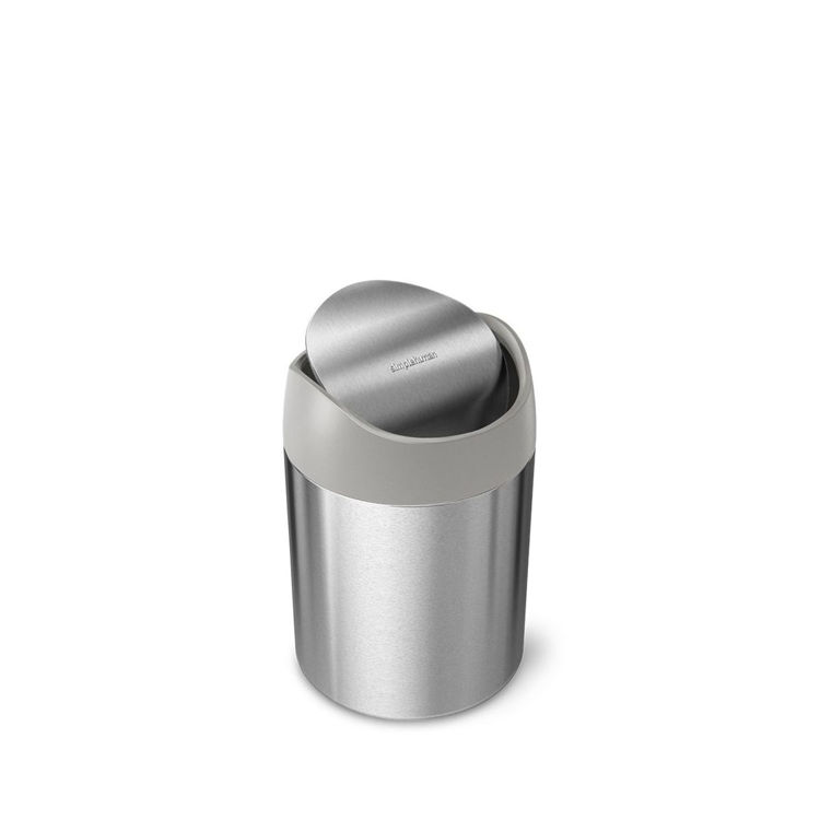Mynd Simplehuman Mini ruslatunna 1,5L stál
