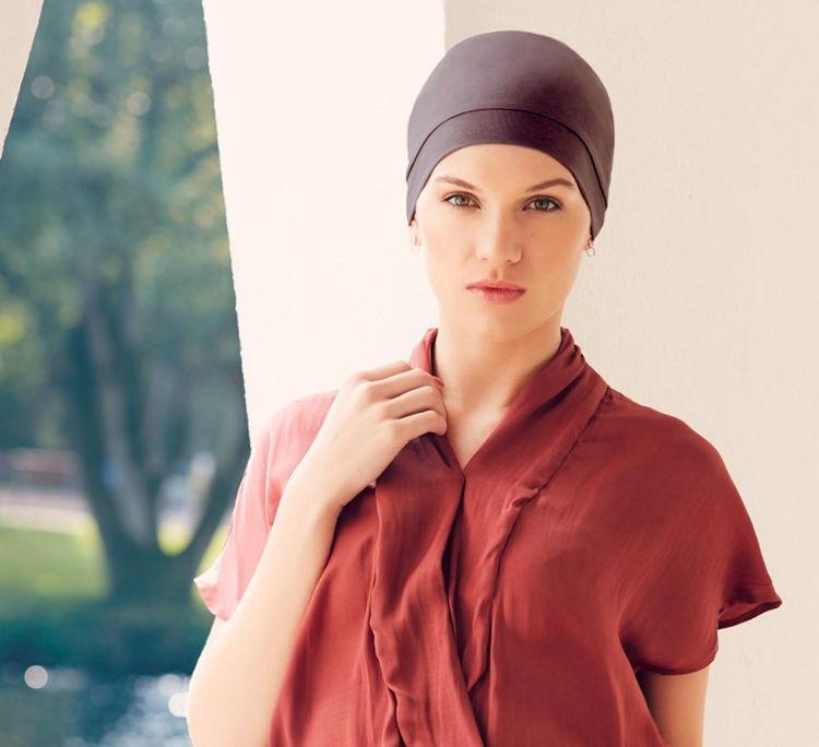Mynd Christine - Laura - V-turban - Dusty black