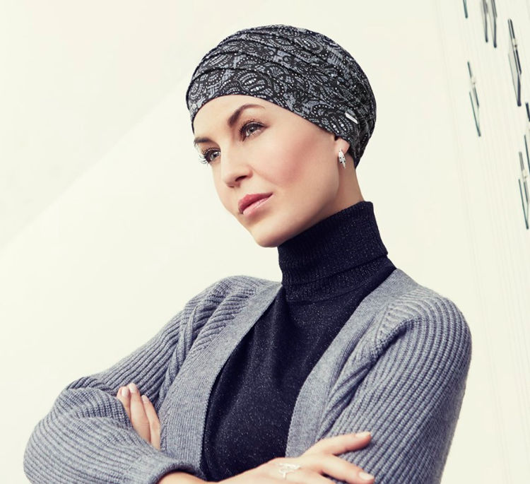 Mynd Christine - Yoga turban - printed - Rococo Lace