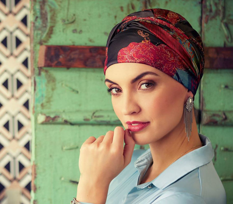 Mynd Christine - Sapphire - Boho turban - pr - Paisley
