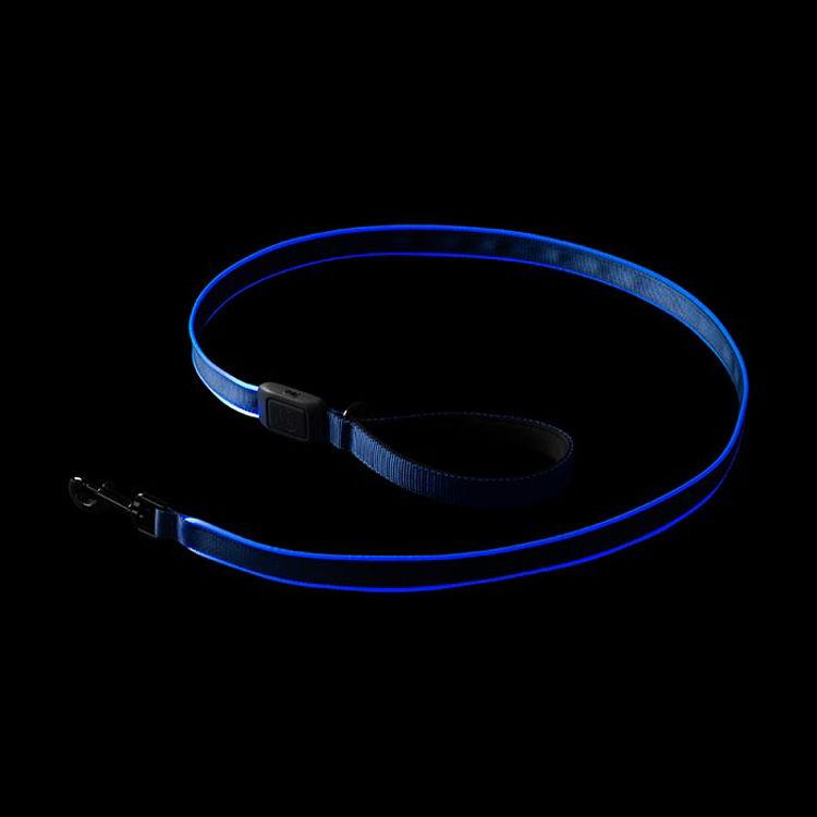 Mynd Nite Ize NiteDog LED taumur endurhlaðanlegur blár