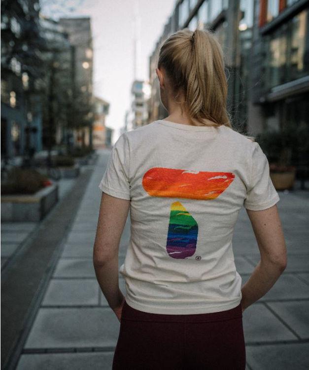 Mynd Tufte Eco Pride bolur kvenna hvítur