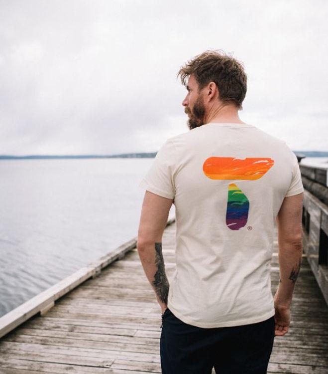 Mynd Tufte Eco Pride bolur karla óbleiktur